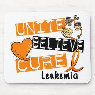 UNITE BELIEVE CURE Leukemia Mouse Pad
