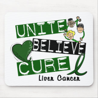 UNITE BELIEVE CURE Liver Cancer Mouse Pad