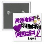 UNITE BELIEVE CURE Lupus Buttons