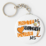 UNITE BELIEVE CURE MS KEY CHAINS