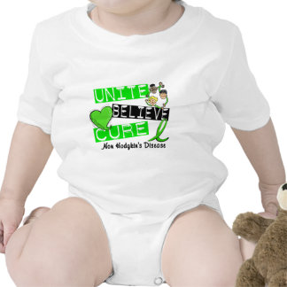 UNITE BELIEVE CURE Non-Hodgkin's Disease Tee Shirts
