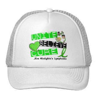 UNITE BELIEVE CURE Non-Hodgkin's Lymphoma Trucker Hat