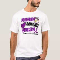UNITE BELIEVE CURE Pancreatic Cancer T-Shirt