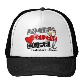 UNITE BELIEVE CURE Parkinson's Disease Trucker Hat