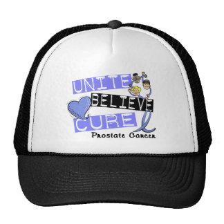UNITE BELIEVE CURE Prostate Cancer Trucker Hat