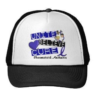 UNITE BELIEVE CURE Rheumatoid Arthritis Mesh Hats