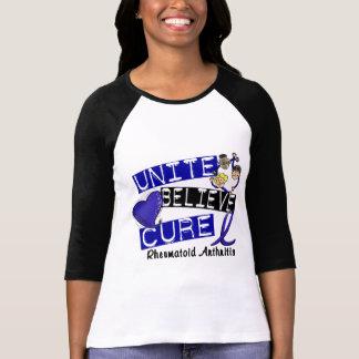 UNITE BELIEVE CURE Rheumatoid Arthritis T-shirts