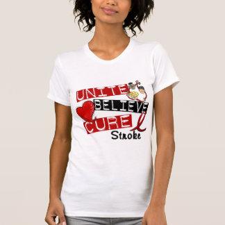 UNITE BELIEVE CURE Stroke Tshirts