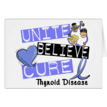 UNITE BELIEVE CURE Thyroid Disease