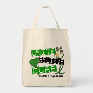 Unite Believe Cure Tourette's Syndrome Bags