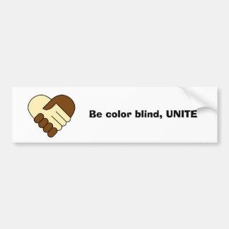 'Unite' bumper sticker