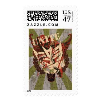 Unite - Decepticon Symbol Postage