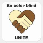 'Unite' stickers