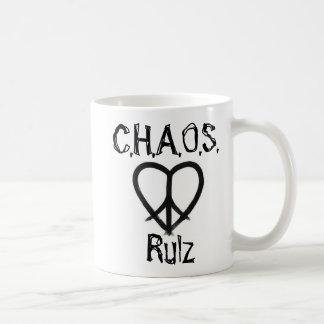 Unite the C.H.A.O.S. - World4Peace Classic White Coffee Mug