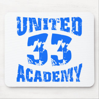 United Academy Jersey Mouse Pad