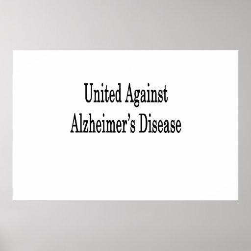 United Against Alzheimer's Disease Print