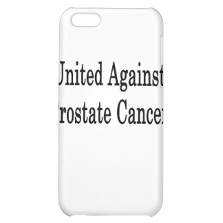 United Against Prostate Cancer iPhone 5C Covers