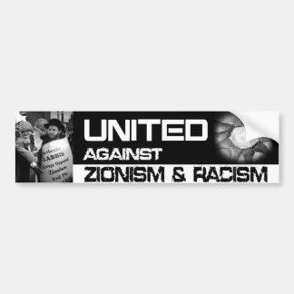 United Against Zionism Bumper Sticker