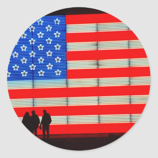 United - American Families Classic Round Sticker