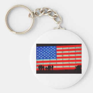 United - American Families Keychain