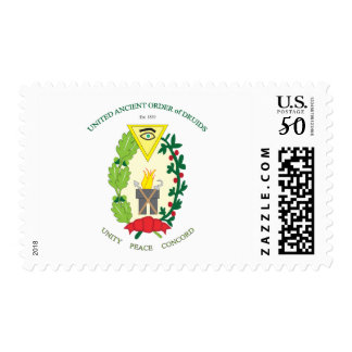 UNITED ANCIENT ORDER OF DRUIDS POSTAGE