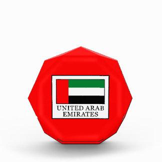 United Arab Emirates Acrylic Award