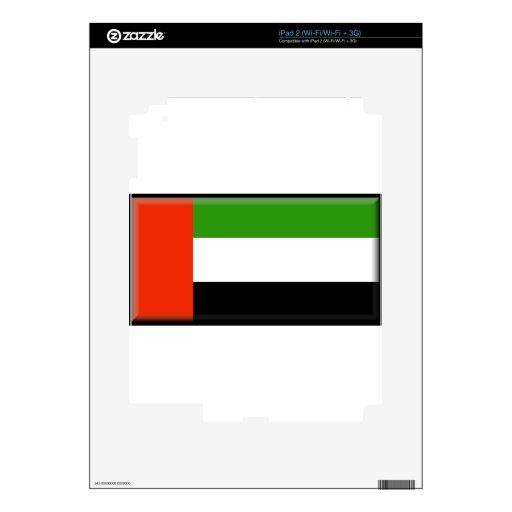 United Arab Emirates Calcomanía Para iPad 2