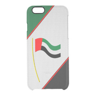 United Arab Emirates Clear iPhone 6/6S Case
