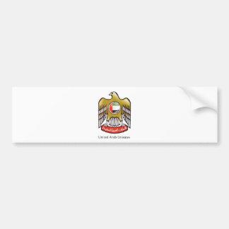 United Arab Emirates coat of arms Bumper Sticker