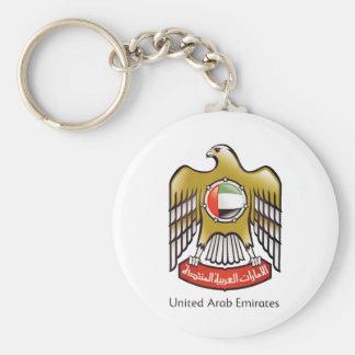 United Arab Emirates coat of arms Keychain