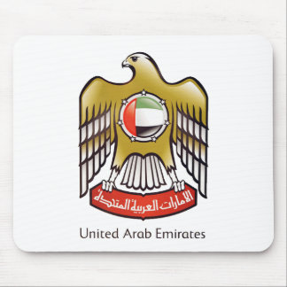 United Arab Emirates coat of arms Mouse Pad