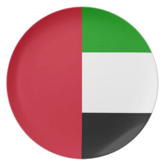 United Arab Emirates Dinner Plate