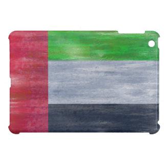 United Arab Emirates distressed UAE flag Cover For The iPad Mini