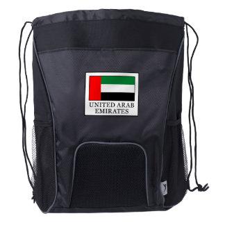 United Arab Emirates Drawstring Backpack