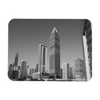 United Arab Emirates Dubai Dubai City 2 Flexible Magnets