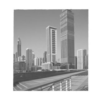 United Arab Emirates, Dubai, Dubai City. Notepad