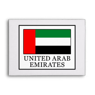 United Arab Emirates Envelope