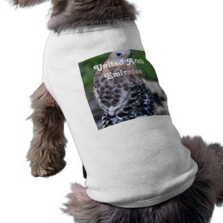 United Arab Emirates Falcon Dog T Shirt