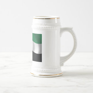 United Arab Emirates Flag Beer Stein