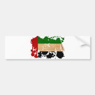 United Arab Emirates Flag Bumper Sticker