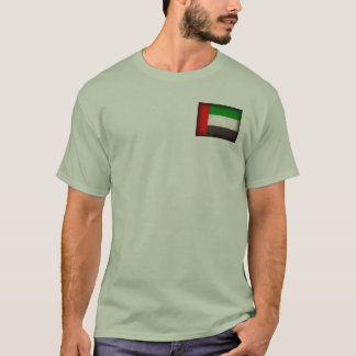 United Arab Emirates Flag Distressed T-Shirt
