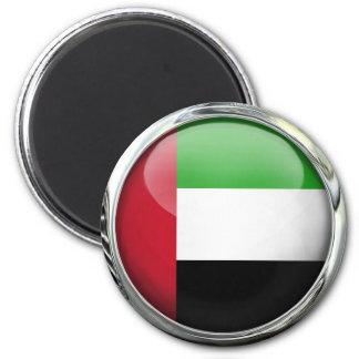 United Arab Emirates Flag Glass Ball Fridge Magnets