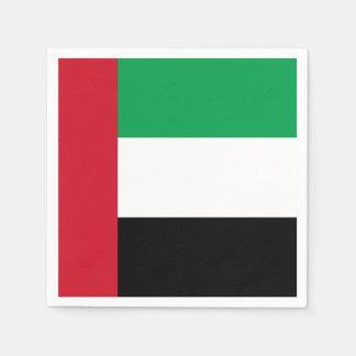 United Arab Emirates Flag Napkin