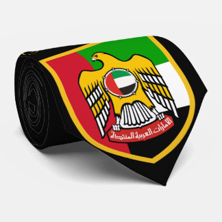 United Arab Emirates Flag Neck Tie