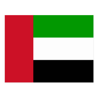 United Arab Emirates Flag Postcard