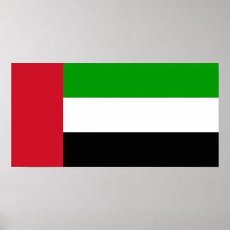 United Arab Emirates Flag Poster