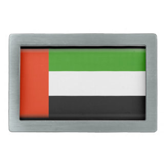 United Arab Emirates Flag Rectangular Belt Buckle