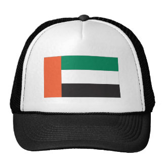 United Arab Emirates Flag Trucker Hats