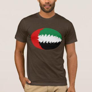 United Arab Emirates Gnarly Flag T-Shirt