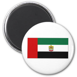 United Arab Emirates Head of State Flag 2 Inch Round Magnet